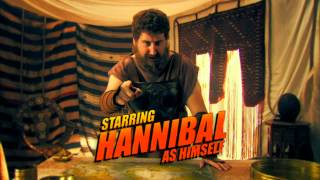 Movie trailers: Hannibal of Carthage = Snakes on a ship