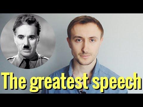 Величайшая РЕЧЬ Чарли Чаплина