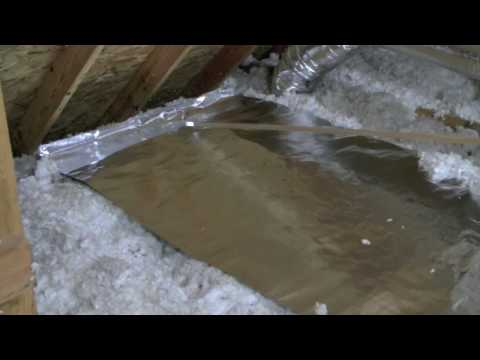 "DIY - ""Green"" Energy Barrier With AtticFoil® Over Attic Insulation"