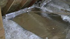 """DIY - """"Green"""" Energy Barrier With AtticFoil® Over Attic Insulation"""