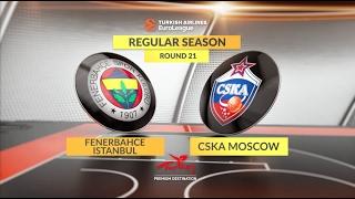 Highlights: Fenerbahce Istanbul-CSKA Moscow