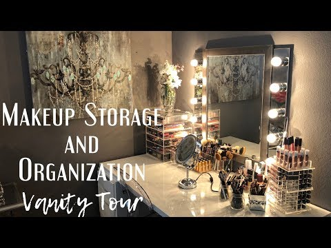 My Everyday Makeup Storage + Full Collection Vanity Tour