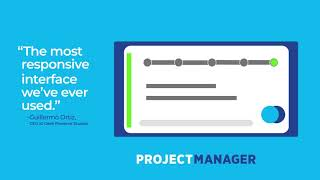 Projectmanager.com's Interface in 15 Seconds
