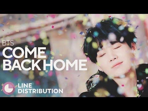 BTS - Come Back Home (Line Distribution)