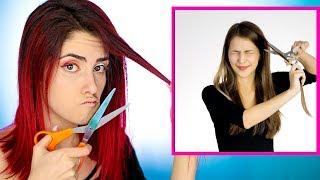 Ich teste komische Make up BEAUTY HACKS I Luisacrashion