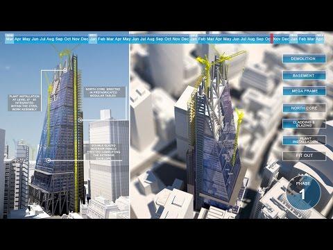 V5D SHOWREEL: 4D CONSTRUCTION & SITE LOGISTICS