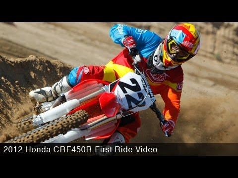 MotoUSA First Ride: 2012 Honda CRF450R