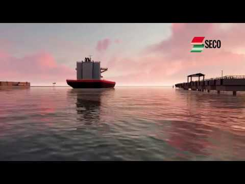 3D animated Walkthrough of Kisumu Oil Jetty Project-Kenya Pipeline Company
