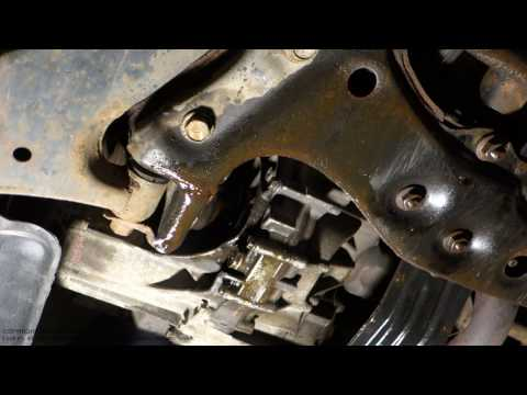 How to repair drive axle and gearbox seal gasket oil leak