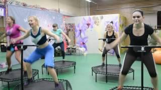 Джампинг фитнес. Прыжки на батуте для похудения. Упражнения на батуте для похудения