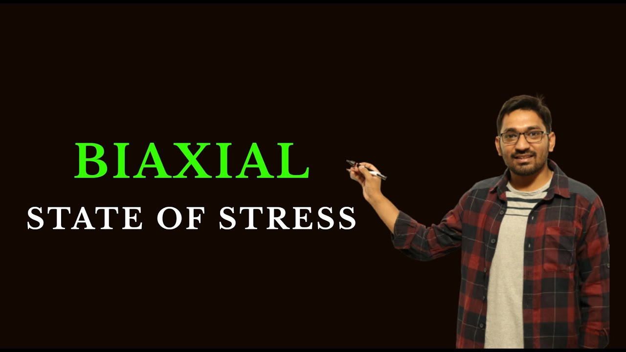 Download Biaxial State of Stress    Strength of Materials GATE 2021-2022   Mechanical Engineering
