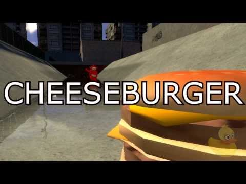 The Cheeseburger Song (Gmod)