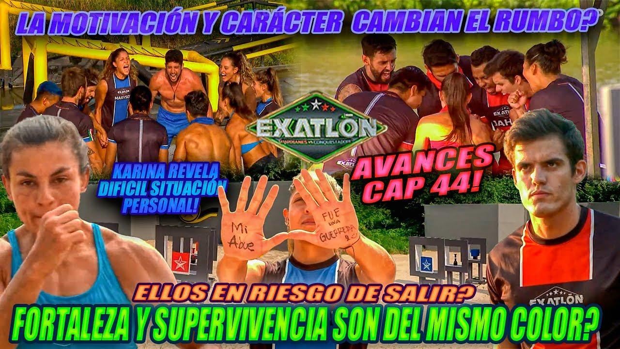 Avances Cap 44 Exatlon MX  Fortaleza y Supervivencia se llevan al limite, quién tomará ventaja.