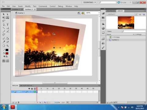 Graphic designing course adobe flash class 1
