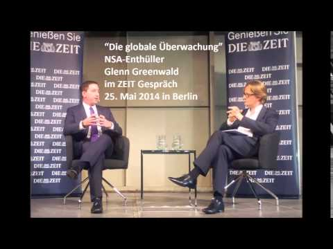 Interview mit Glenn Greenwald über den NSA Skandal / Glenn Greenwald talks about the NSA scandal