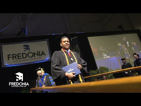 2018 Fredonia Commencement Highlights