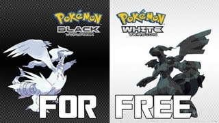 How to Get Pokemon Black and White For Free For PC! + Gameplay