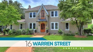 Video Tour of 16 Warren St. in Sumter, SC