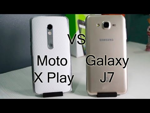 Moto X Play VS Samsung Galaxy J7 Comparison- Which Is Better?