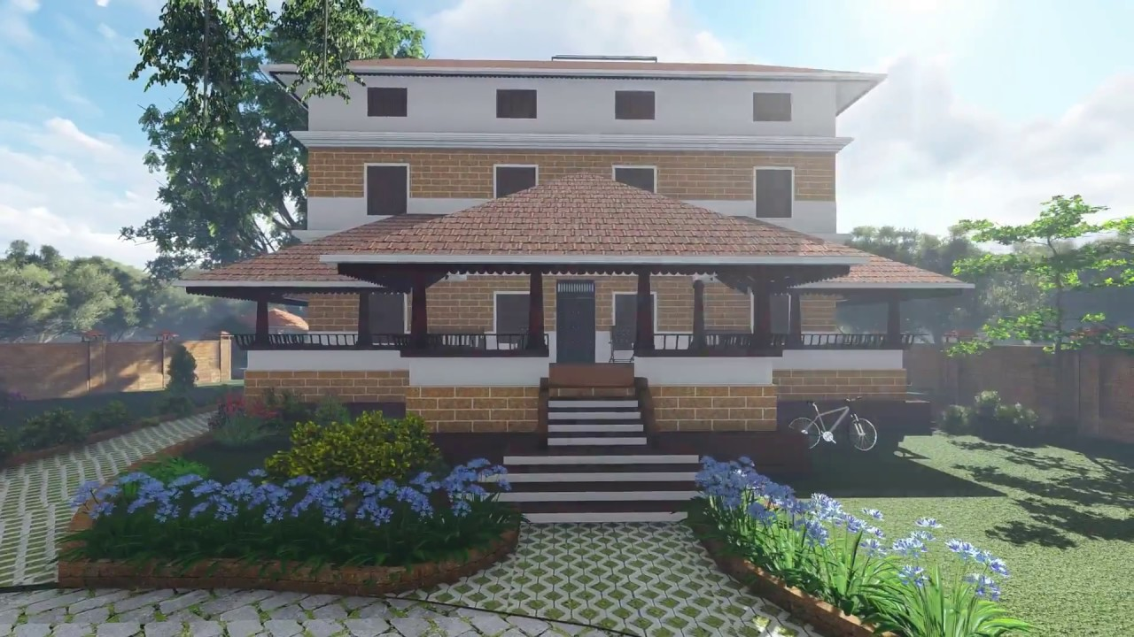TRADITIONAL KERALA HOUSE ARCHITECTURE NALUKETTU ARCHAGE on 2 story house design, colonial style home design, kerala house interior design,