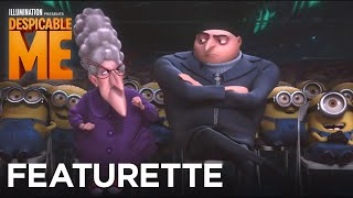 "Despicable Me - Featurette: ""Julie Andrews: Mother knows best!"" - Illumination"