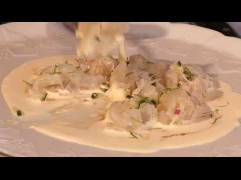 How to cook crayfish ceviche recipe. Will Studd and Tetsuya Wakuda