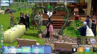 The Sims 3 Generations Wedding Party Ceremony Expansion Pack HD