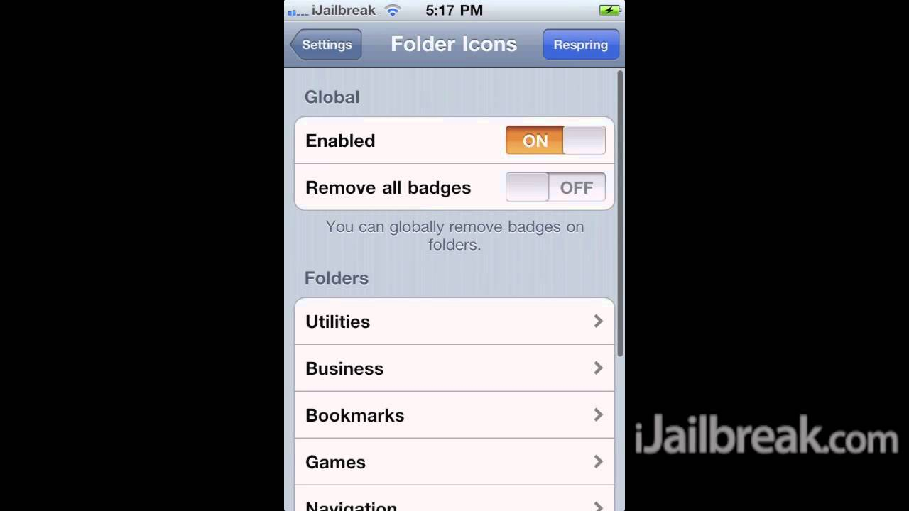 Alphacon, CardSwitcher, MultiCleaner And FolderIcons Cydia