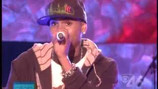 Cover images Chris Brown - Gimme That (live)