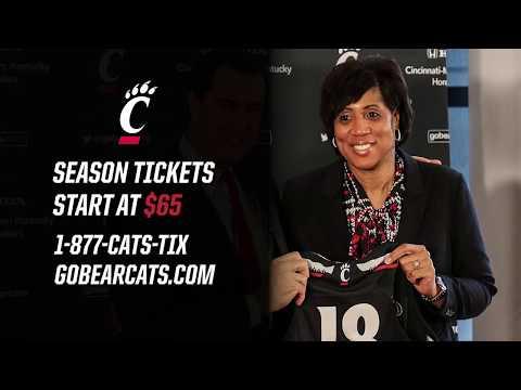 Cincinnati Women's Basketball 2018-2019 Season Tickets Commercial
