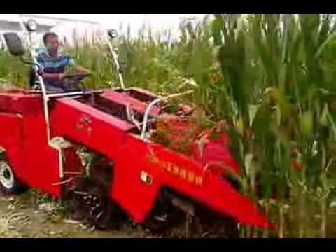 4yxp 2 Corn Harvester Youtube
