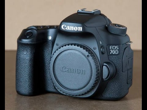 what is included with the canon eos 70d