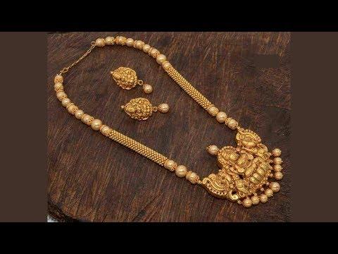 Exclusive Designer 1 Gram Gold Jewellery Designs Part 65