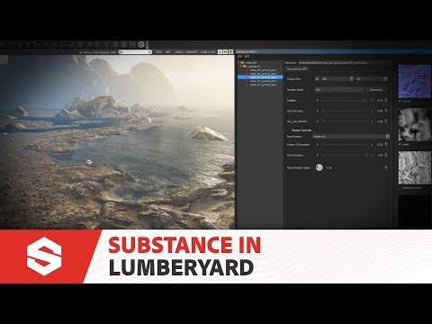 Using Substance Materials in Lumberyard