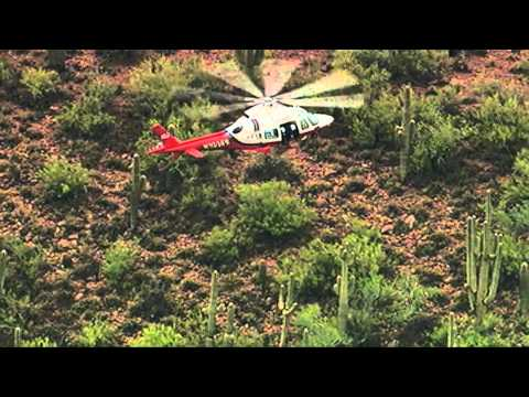 Raw video: Helicopter coverage of Phoenix flooding and rain
