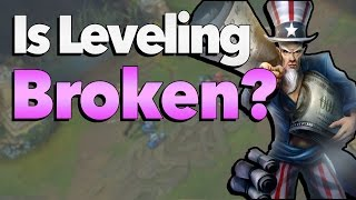 is the summoner leveling system broken   league of legends