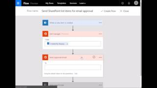 Creating a simple Microsoft Flow workflow for a SharePoint list