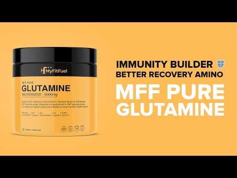 MyFitFuel Pure Glutamine [Micronized] | High Immunity Booster | Greater Protein Builder