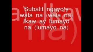 Jeepney by Sponge Cola (acoustic version) LYRICS....