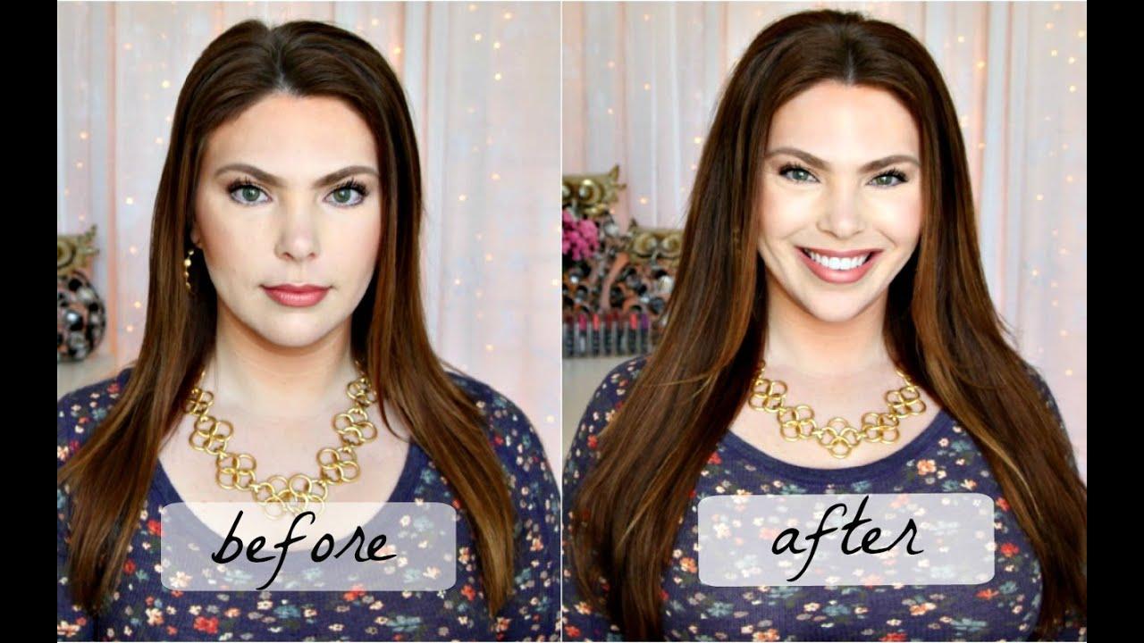 how to get full voluminous straight hair tutorial fine flat hair