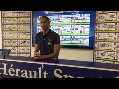 🎥 LIVE : Conférence de presse Daniel Congré avant SDR-MHSC