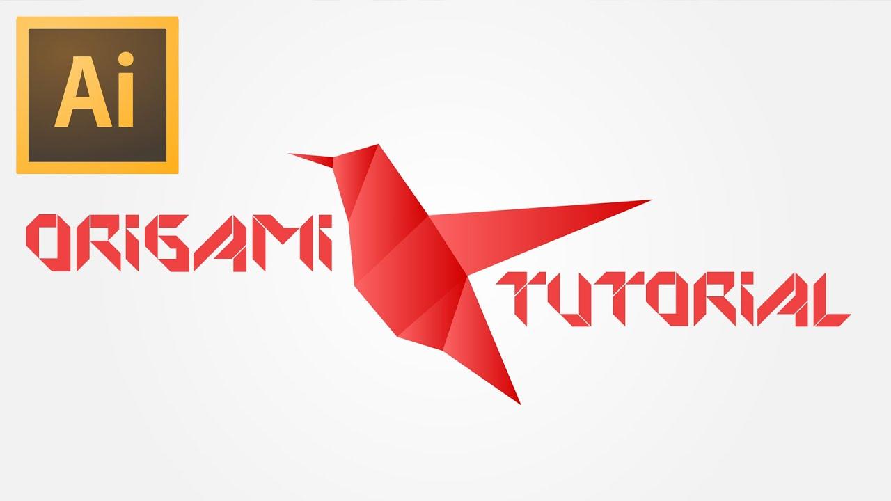 tutorial origami illustrator