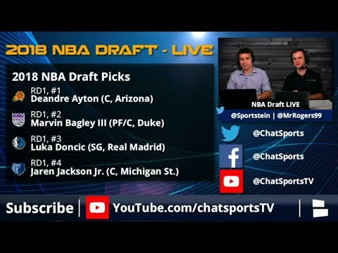 NBA Draft 2018: Winners, Losers And Complete Draft Results