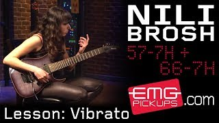 Nili Brosh talks about Vibrato on EMGtv