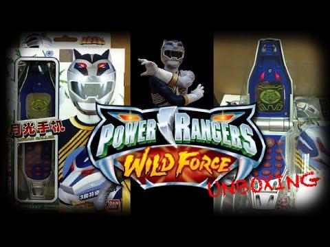 Power Rangers Wild Force Lunar Morpher Unboxing