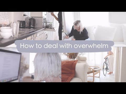 6 Things You NEED To Do When You Feel Overwhelmed