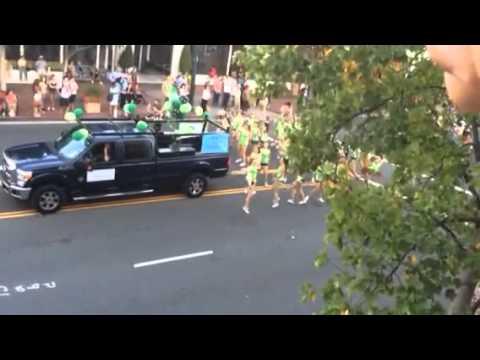 The 77th Walnut Festival Parade, Walnut Creek, California. September 13, 2014