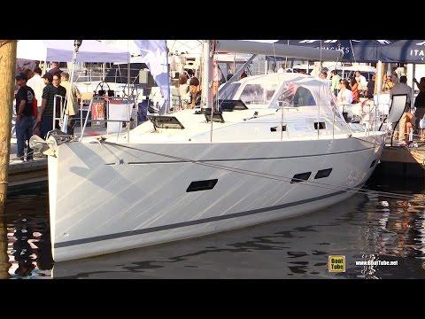 2016 Italia Yachts 13.98 47feet Sailing Yacht - Walkaround - 2015 Annapolis Sail Boat Show