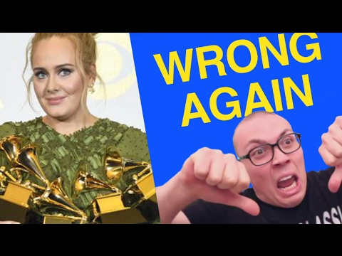 Thumbnail: FOREVER DISAPPOINTING: A 59th Grammy Awards Recap
