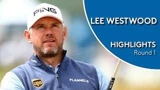 Lee Westwood Highlights | Round 1 | 2018 D+D Real Czech Masters
